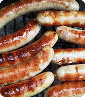 Cooked Sausage links