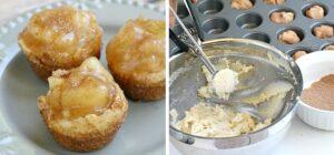Snicker doodle apple pie bites