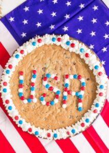 USA Chocolate Chunk Cookie Cake